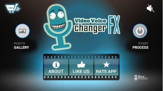 video voice changer fx