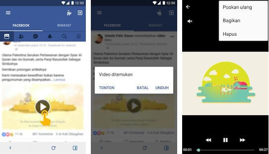video download for facebook video downloader