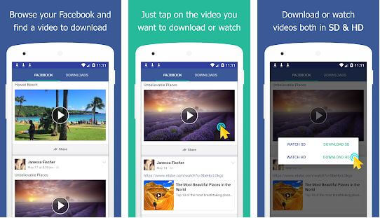 Video Downloader For Facebook Lite Repost Video