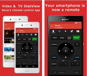 Video TV SideView Remote