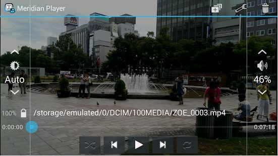 aplikasi pemutar video android meridian player