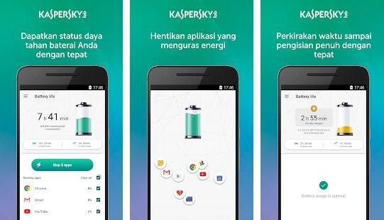 kasperky battery life