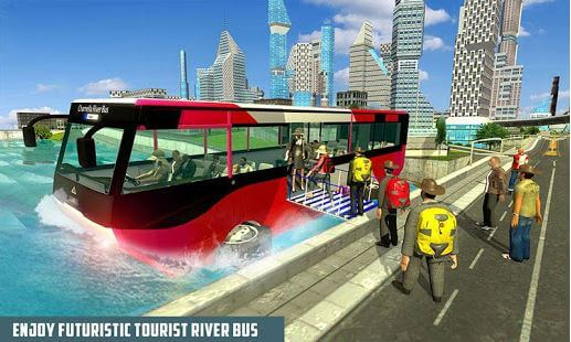 River Bus Driving Tourist Bus Simulator 2018