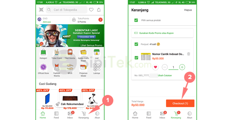 checkout tokopedia