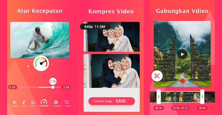 aplikasi kompres video YouCut