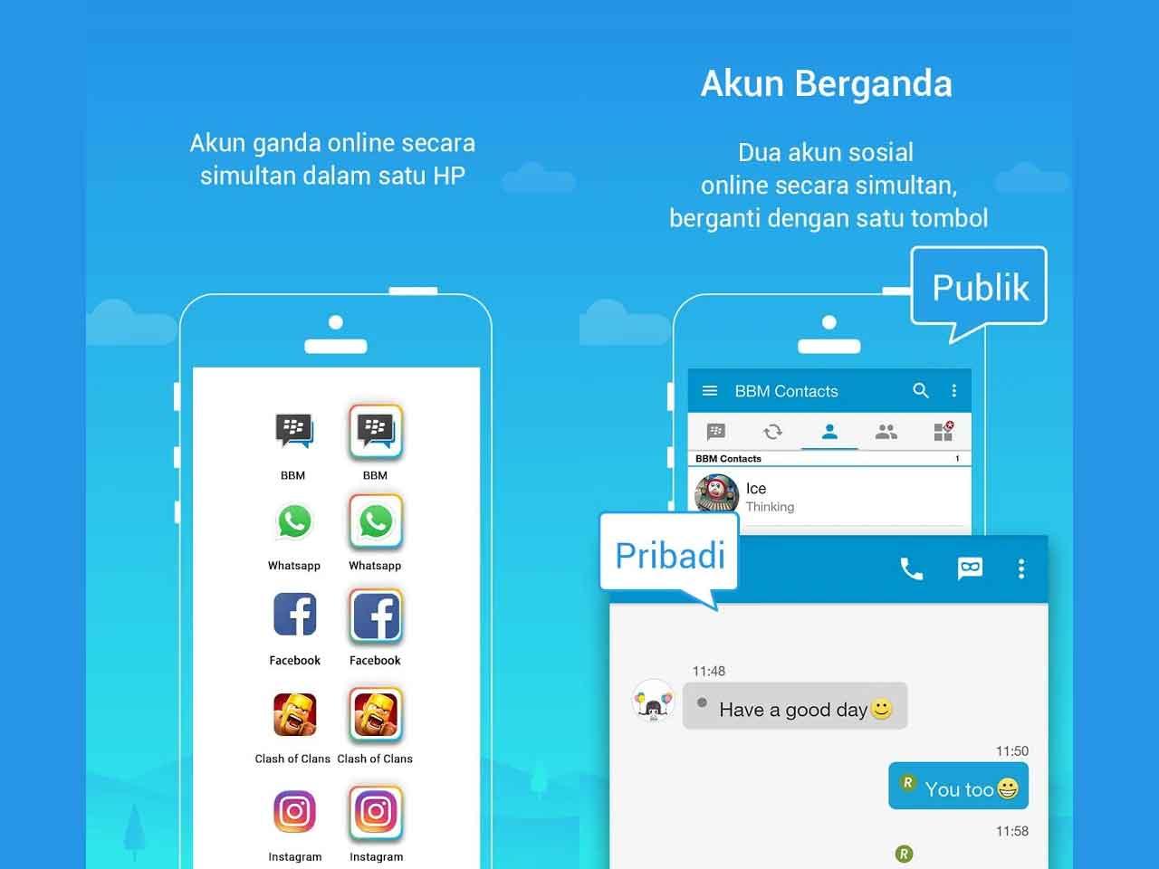 10 Aplikasi Ganda Akun Dan Game Terbaik Untuk Smartphone Android