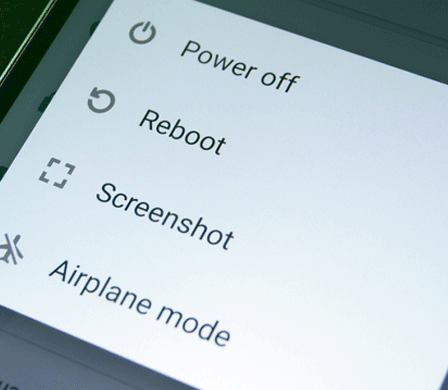 reboot android