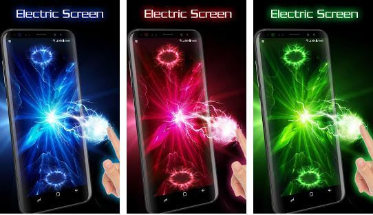 Electric Screen for Prank Live Wallpaper