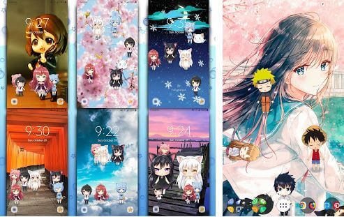 Download 960 Background Anime Salju Gratis