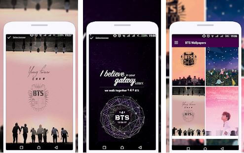 BTS Live Wallpaper (SN Studio)