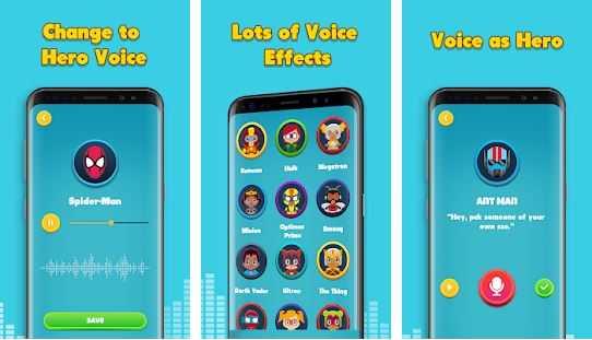 Voice Changer - Super Voice Effect