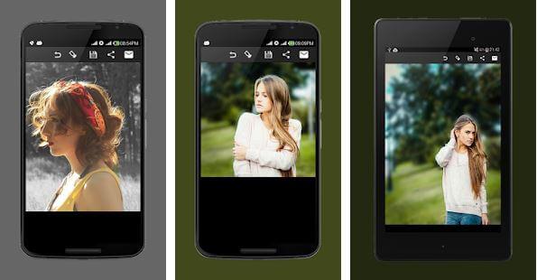 Blur Image DSLR focus effect