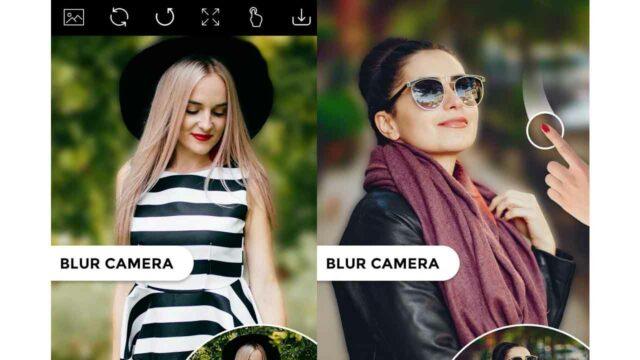 aplikasi kamera blur