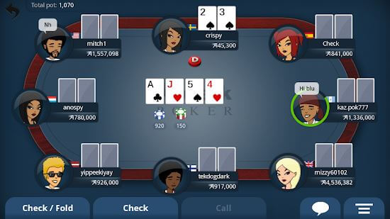 Appeak - The Free Poker Game