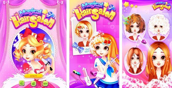 Magical Hair Salon Girl Makeover