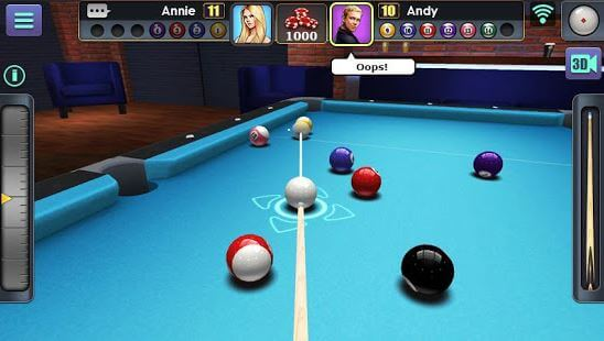 3D Billiard