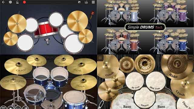 aplikasi drum terbaik