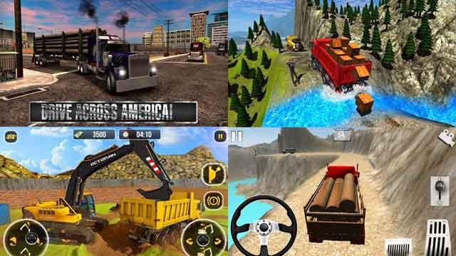 game mobil truk