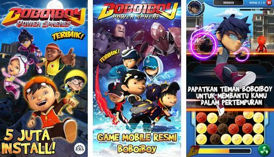 Boboiboy power spheres