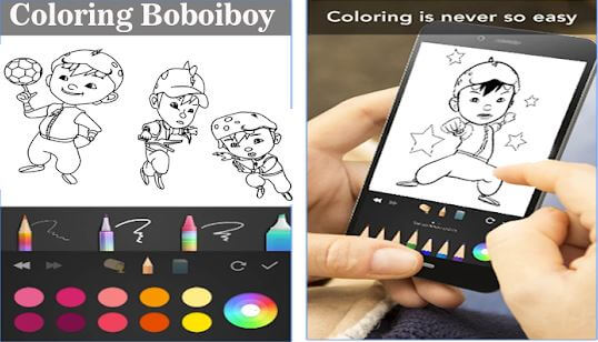 BoBoiBoy Coloring for Kids Jaman Now