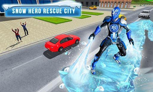 Superhero Frost Man City Rescue