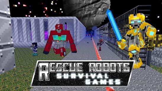 Rescue Robots Survival Games