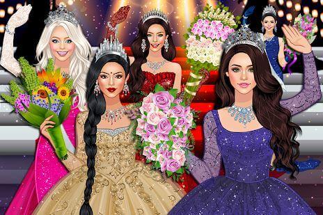 Beauty Queen Dress Up