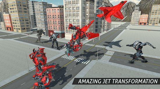 Air Robot Game