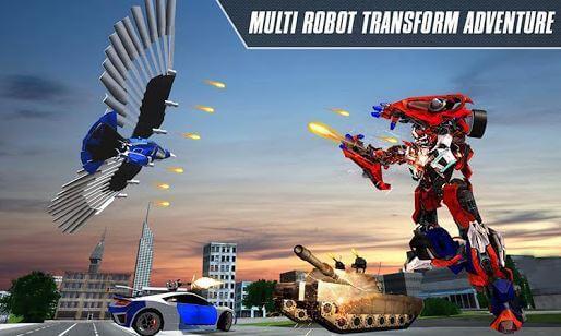 Multi Robot Transform