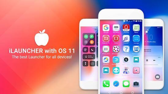 iLauncher OS 12