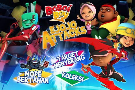 BoBoiBoy Ejojo Attacks