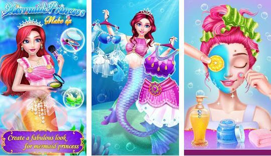 Mermaid Princess Makeup
