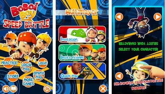 BoBoiBoy Speed Battle
