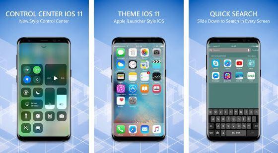 OS 12 iLauncher Phone 8