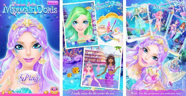 Princess Salon Mermaid Doris