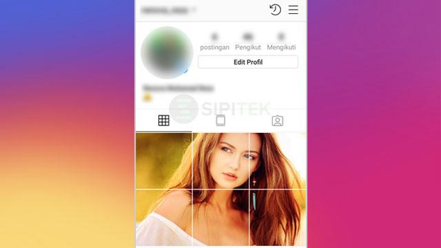 cara membuat feed instagram nyambung