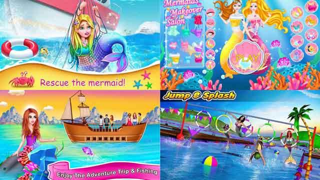 game mermaid putri duyung