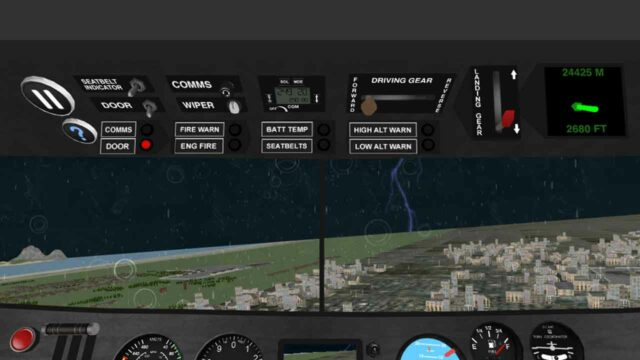 game simulator pesawat