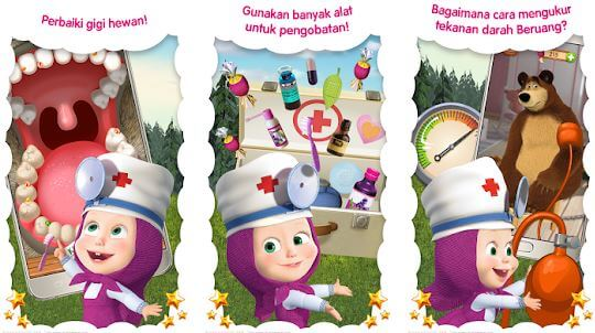 Masha and the Bear Free Animal Games for Kids