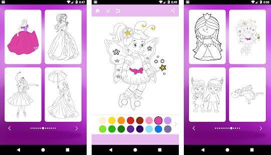 Princess Coloring Pages (Infokombinat)