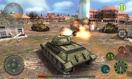 Tank Strike 3D War Machines