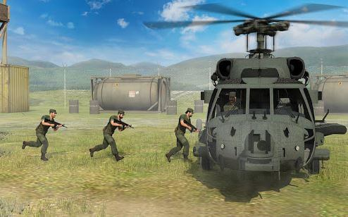 Army Helicopter Transporter 3D