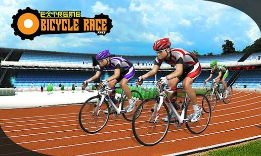 BMX Extreme Bicycle Race