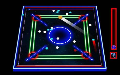 Carrom Real Laser Carrom Pro