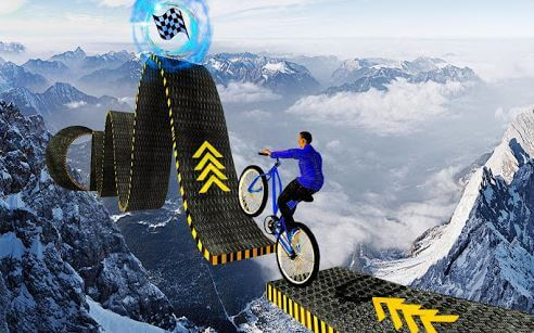 Cycle Race Extreme BMX Supper Bicycle Rider