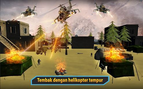 Gunship Helicopter Air War Strike