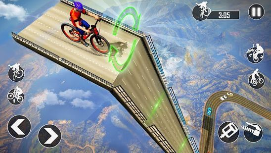 Mega Ramp BMX Stunt Racing 2019