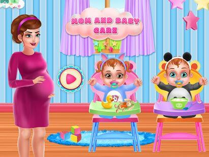 Mommy Baby Care Newborn Nursery