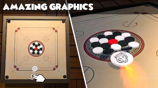 Classic Carrom Board Pro Game