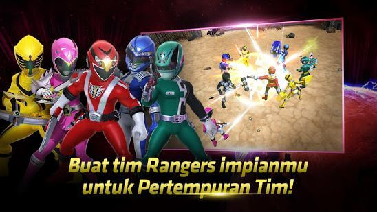 Power Rangers All Stars